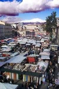 Catania, piazza Carlo Alberto