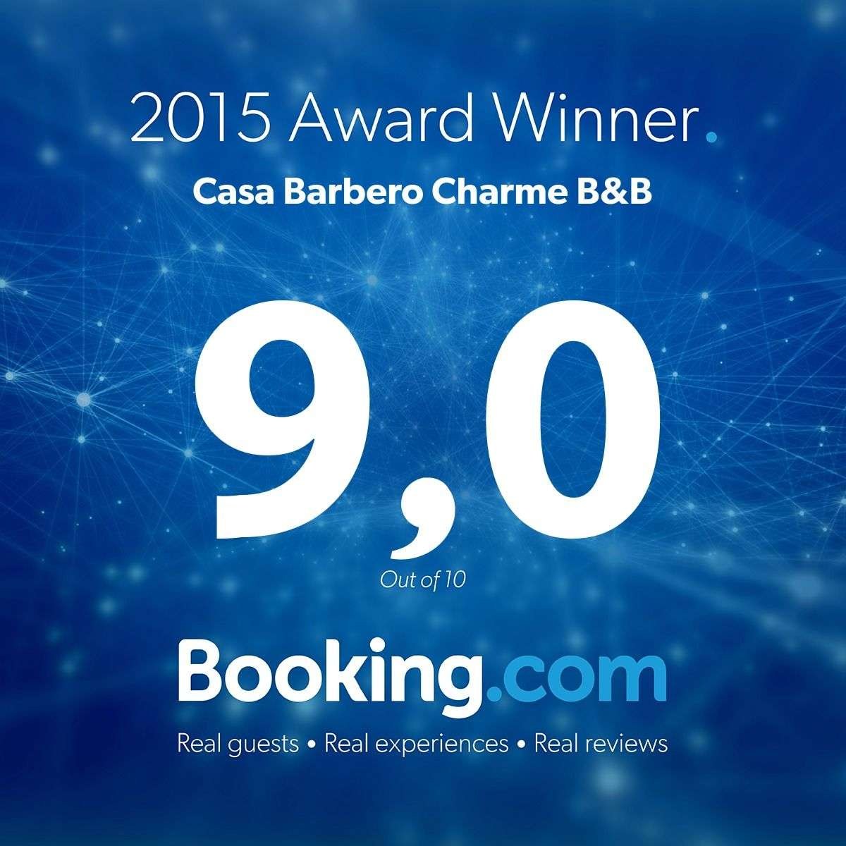 b&b catania 2015 award winner